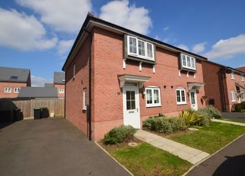 Thumbnail 3 bed semi-detached house to rent in Tacitus Way, North Hykeham, Lincoln
