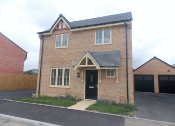 Thumbnail 4 bed detached house to rent in Glebe Road, Boughton, Northampton