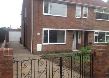 Thumbnail 3 bed semi-detached house to rent in Windsor Walk, Scawsby, Doncaster