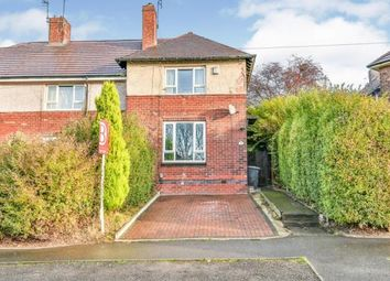 Thumbnail 2 bed end terrace house for sale in Adkins Road, Sheffield, South Yorkshire