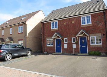 Thumbnail 2 bed semi-detached house for sale in Felix Close, Peterborough