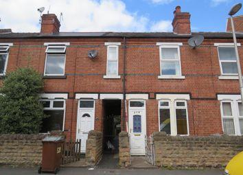 Thumbnail 2 bed terraced house for sale in Berridge Road, Forest Fields, Nottingham