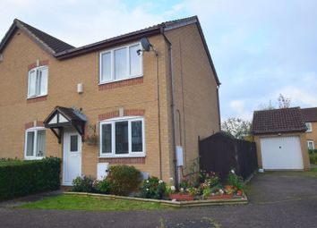 Thumbnail 2 bed semi-detached house for sale in Bantock Close, Browns Wood, Milton Keynes
