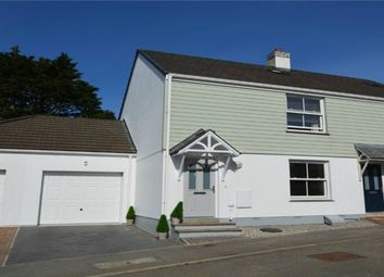 Thumbnail 3 bed semi-detached house for sale in Wentworth Close, Redruth, Cornwall