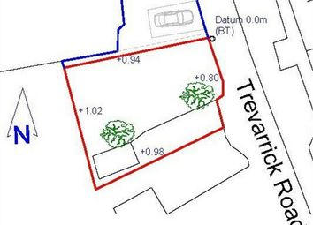 Thumbnail Land for sale in Trevarrick Road, St Austell, Cornwall