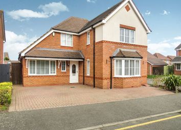 Thumbnail 4 bed detached house for sale in Dixon Road, Kingsthorpe, Northampton