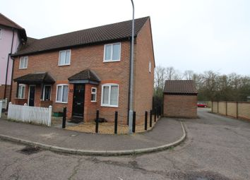 Thumbnail 2 bed end terrace house for sale in Dale Close, Stanway, Colchester