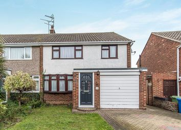 Thumbnail 3 bed semi-detached house to rent in Hobart Gardens, Sittingbourne