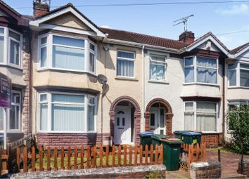 3 bed terraced house for sale in Torrington Avenue, Coventry CV4