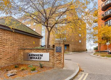 Thumbnail 1 bed flat for sale in Arnhem Wharf, London, London