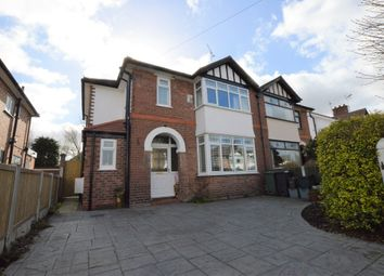 Thumbnail 3 bed semi-detached house for sale in Greenbank Road, Hoole, Chester