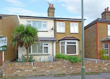 Thumbnail 2 bed semi-detached house for sale in Russell Road, Walton-On-Thames, Surrey
