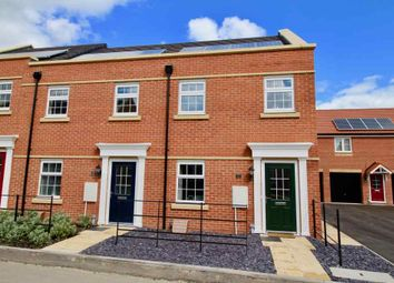 Thumbnail 3 bed town house for sale in Gretton Road, Corby