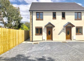 Thumbnail 3 bed semi-detached house for sale in Bellvue Road, Bynea, Llanelli