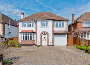 Thumbnail 5 bed detached house for sale in Arundel Avenue, East Ewell