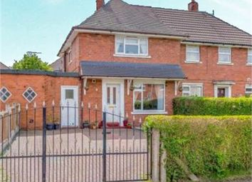 Thumbnail 2 bed semi-detached house for sale in Millstone Avenue, Talke, Stoke-On-Trent, Staffordshire