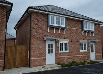 Thumbnail 3 bed semi-detached house to rent in Amber Close, Upton, Pontefract