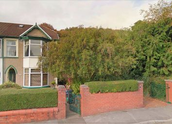 Thumbnail 4 bed semi-detached house for sale in Edwardsville, Treharris