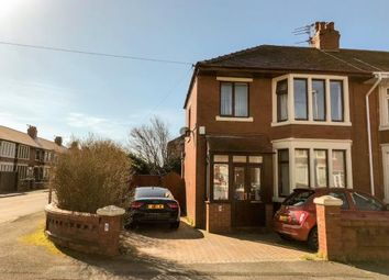 Thumbnail 3 bed end terrace house for sale in Alston Road, Blackpool, Lancashire, England