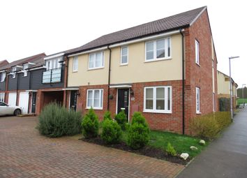 Thumbnail 2 bed semi-detached house for sale in Vauxhall Way, Dunstable