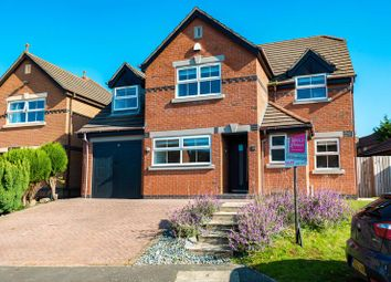 Thumbnail 4 bed detached house for sale in Hill Rise View, Aughton, Ormskirk