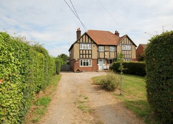 Thumbnail 3 bed semi-detached house for sale in Takeley, Bishop's Stortford, Essex
