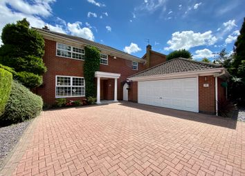 Thumbnail 4 bed detached house for sale in Brickman Close, Leicester Forest East, Leicester