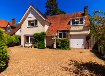 Thumbnail 4 bed detached house for sale in Maybury Hill, Woking