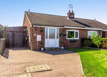 Thumbnail 2 bed semi-detached bungalow for sale in Moorfield Way, York, East Riding Of Yorkshire