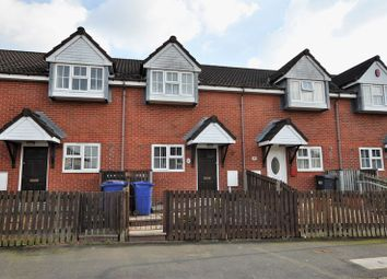 Thumbnail 2 bed terraced house for sale in Silk Mill Lane, Tutbury, Burton-On-Trent