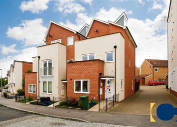 Thumbnail 3 bed town house for sale in Sinatra Drive, Oxley Park, Milton Keynes, Buckinghamshire