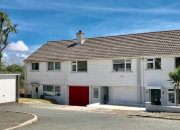 Thumbnail 2 bedroom flat for sale in Polmor Road, Crowlas, Penzance, Cornwall.