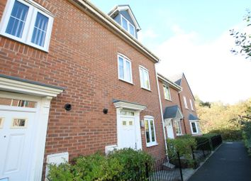 Thumbnail 3 bedroom town house for sale in Saw Mill Way, Burton-On-Trent