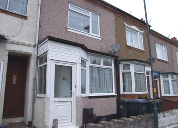Thumbnail 2 bed terraced house to rent in Kingsland Avenue, Chapelfields, Coventry, West Midlands