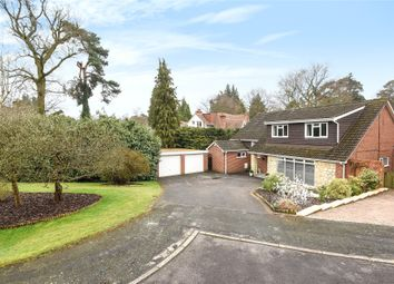 Thumbnail 6 bed detached house for sale in Redcrest Gardens, Camberley, Surrey