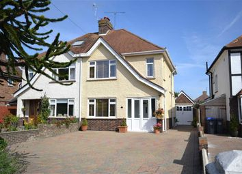 Thumbnail 3 bed semi-detached house for sale in Littlehampton Road, Salvington, Worthing, West Sussex