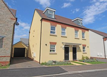 Thumbnail 3 bed semi-detached house for sale in Exmoor Way, Cullompton