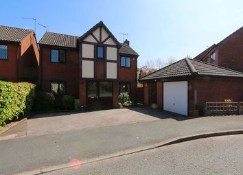 Thumbnail 4 bed detached house for sale in Edwards Way, Alsager, Stoke-On-Trent, Cheshire