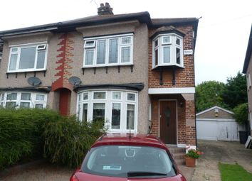 Thumbnail 3 bed semi-detached house for sale in Aragon Drive, Hainault