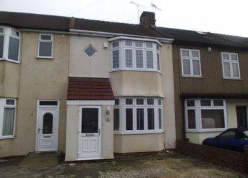 Thumbnail 3 bedroom terraced house for sale in Stafford Avenue, Hornchurch