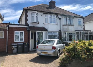 Thumbnail 3 bed semi-detached house to rent in Twyford Road, Ward End, Birmingham