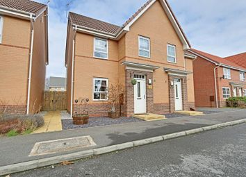 Thumbnail 3 bed semi-detached house for sale in Boundary Way, Hull