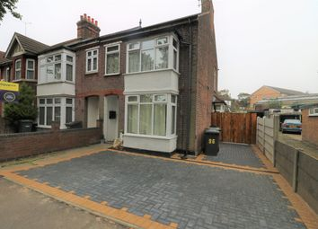 Thumbnail 3 bed semi-detached house to rent in Limbury Road, Luton