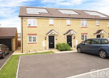 Thumbnail 3 bed end terrace house for sale in Russet Drive, Bishops Cleeve, Cheltenham