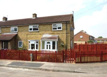 Thumbnail 3 bed end terrace house for sale in Newman Avenue, Royston