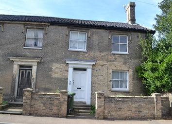 Thumbnail 1 bed flat to rent in Redenhall Road, Harleston, Norfolk
