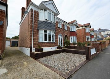 Thumbnail 3 bed semi-detached house for sale in Lower Drayton Lane, Drayton, Portsmouth
