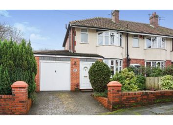 Thumbnail 3 bed semi-detached house for sale in Danesbury Road, Bradshaw, Bolton