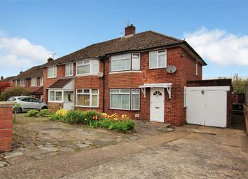 Thumbnail 3 bed semi-detached house for sale in Celyn Avenue, Lakeside, Cardiff