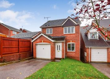 Thumbnail 3 bed detached house for sale in Swithland Close, Hasland, Chesterfield
